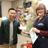 2800A F15 OVC PIC Kekoa Tang giving cheque to OHS 151211